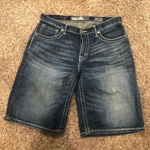Men's Buckle BKE denim (Derek) Jean shorts size 33